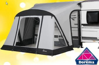NEW Starcamp Quick N Easy Air 325 Porch Awning