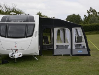 NEW Kampa Rally Air Pro Grande Awning + FREE ACCESSORIES