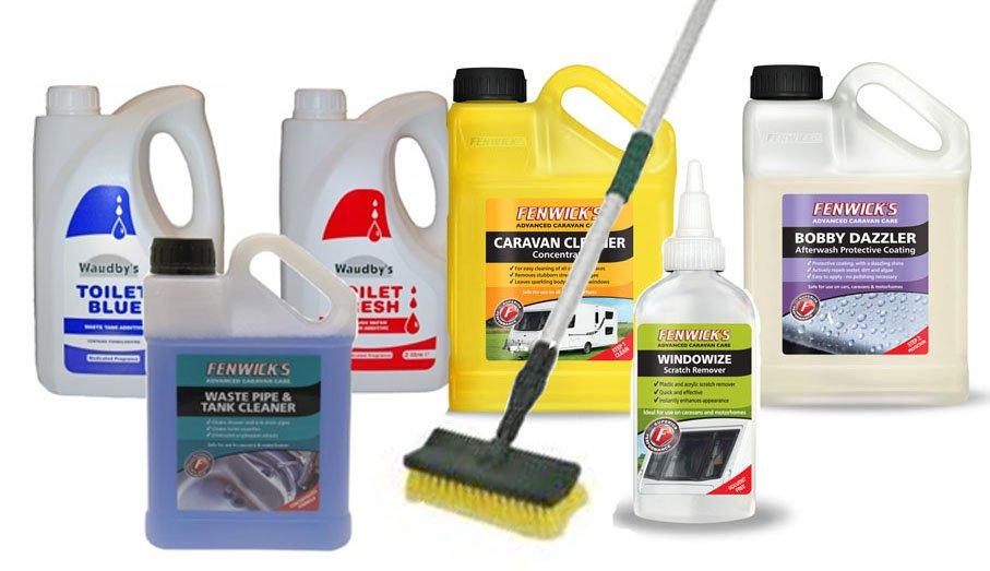 Ultimate Caravan Cleaning Kit Waudbys