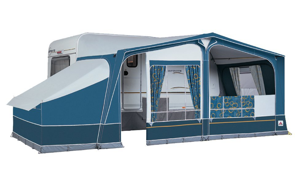 Dorema Daytona Size 13 Blue Full Awning - 2016 Model | Waudbys