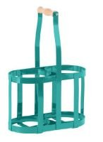 SALE - Hothouse Teal 2 Bottle holder
