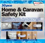Streetwize Home and Caravan Safety Kit