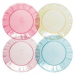 SALE - SweetSummer Days - Plain Set of 4 plates