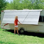 NEW - Fiamma Caravanstore XL 280 - Grey