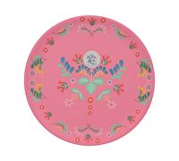 SALE - Festival Folk Side Plate - Pink