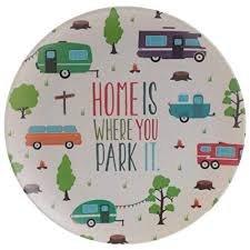Bambootique Eco Friendly Caravan Design Plate