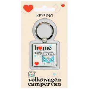 Volkswagen Home Is Where You Park It Keyring
