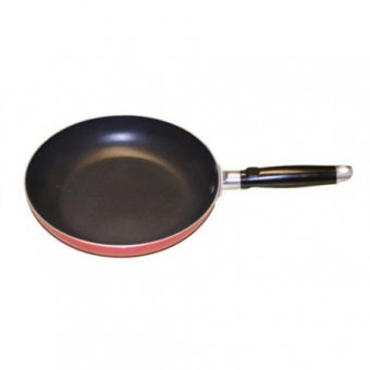 NEW Quest Red Non Stick Frying Pan