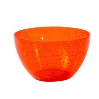 SALE - Aruba Orange Bubble Melamine