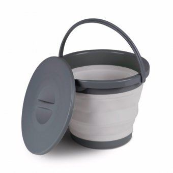 Kampa Collapsible Bucket with Lid 5litre