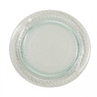 SALE - Recycled Glass Effect Plate
