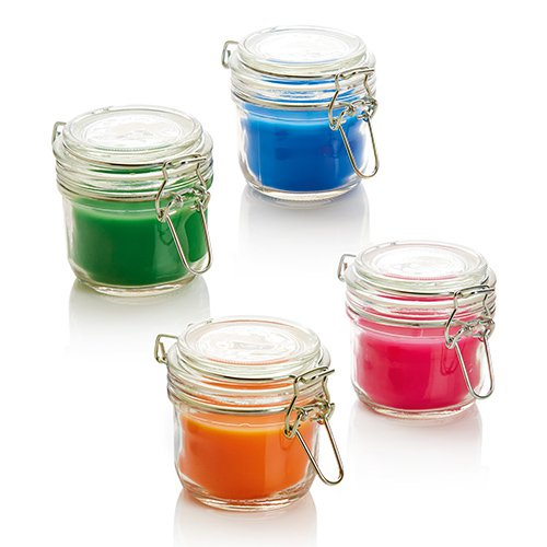 Citronella Candle In Airtight Jar WAS £2.00: BLUE